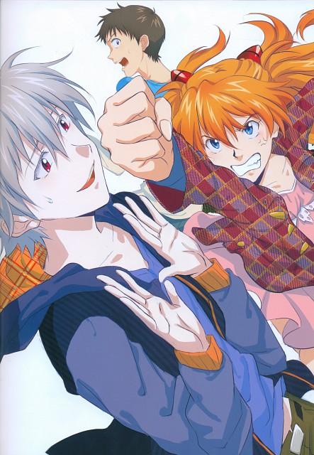 Gainax, Khara, Neon Genesis Evangelion, Imaginary Happiness, Shinji Ikari