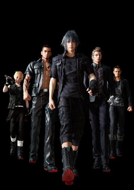 Square Enix, Final Fantasy XV, Noctis Lucis Caelum, Cor Leonis, Gladiolus Amicitia