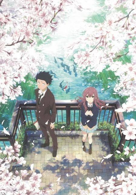 Yoshitoki Ooima, Kyoto Animation, Koe no Katachi, Shouko Nishimiya, Shouya Ishida