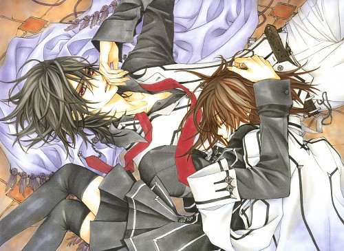 Matsuri Hino, Vampire Knight, Hino Matsuri Illustrations Vampire Knight, Kaname Kuran, Yuuki Cross