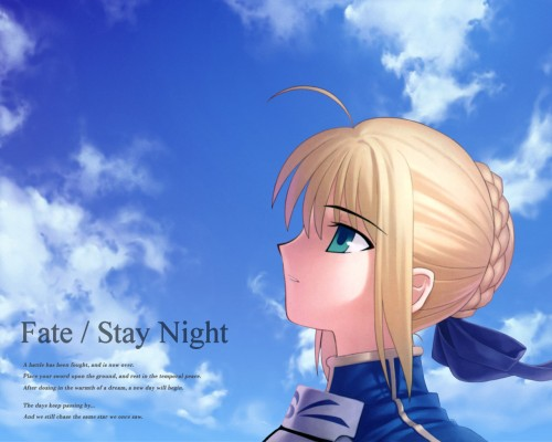 TYPE-MOON, Fate/stay night, Saber