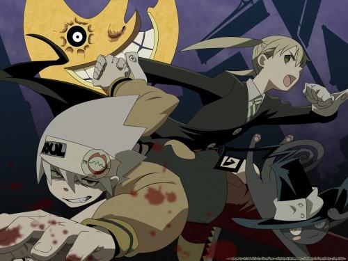 Atsushi Okubo, Soul Eater, Blair, Soul Evans, Maka Albarn Wallpaper