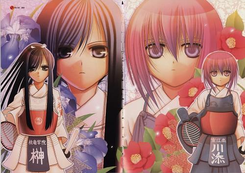 Aguri Igarashi, Bamboo Blade, Kokoro Sakaki, Tamaki Kawazoe