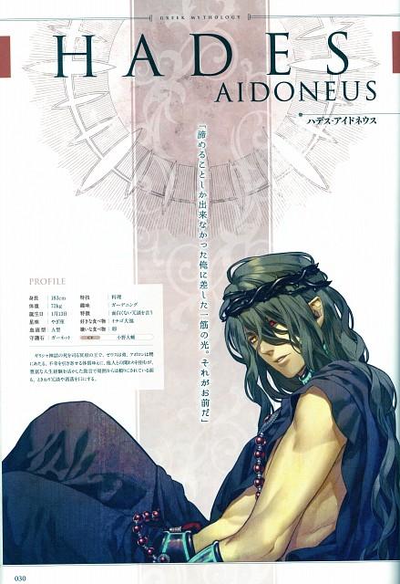 Yone Kazuki, Brains Base, Broccoli, Kamigami no Asobi, Hades Aidoneus