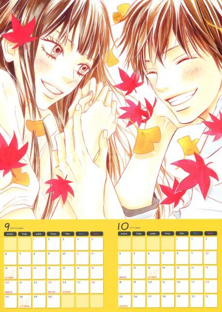 Karuho Shiina, Kimi ni Todoke, Kimi Ni Todoke Calendar 2010, Shouta Kazehaya, Sawako Kuronuma