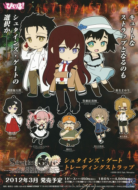 White Fox, Nitro+, Steins Gate, Rintarou Okabe, Itaru Hashida