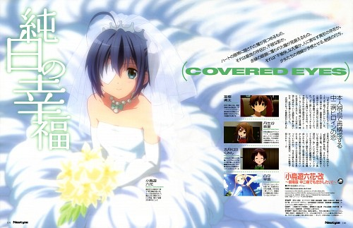 Rie Sezaki, Kyoto Animation, Chuunibyou demo Koi ga Shitai!, Rikka Takanashi, Newtype Magazine