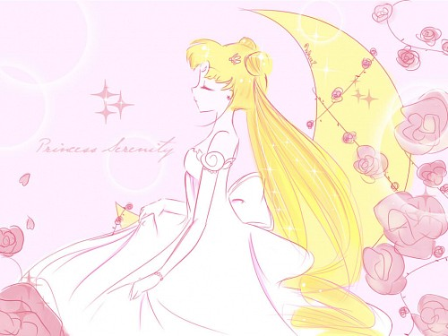 Toei Animation, Bishoujo Senshi Sailor Moon, Princess Serenity, Member Art Wallpaper