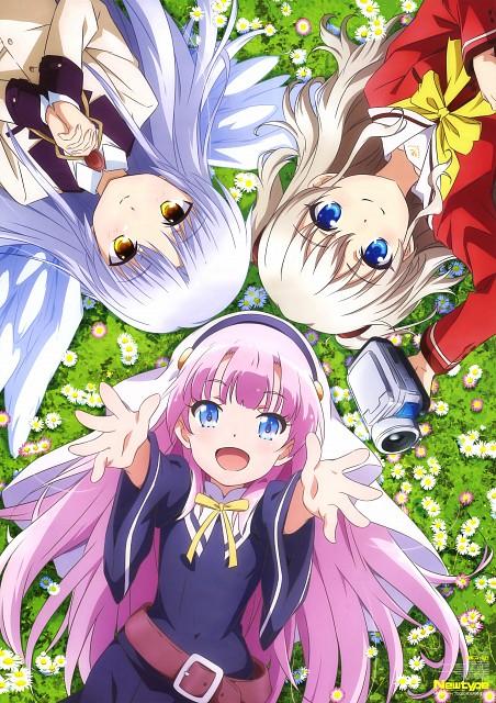 Manabu Nii, P.A. Works, Charlotte (Series), Angel Beats!, Kamisama ni Natta hi