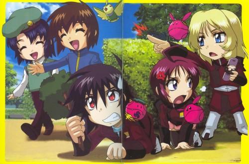 As' Maria, Mobile Suit Gundam SEED Destiny, Rey Za Burrel, Kira Yamato, Lunamaria Hawke