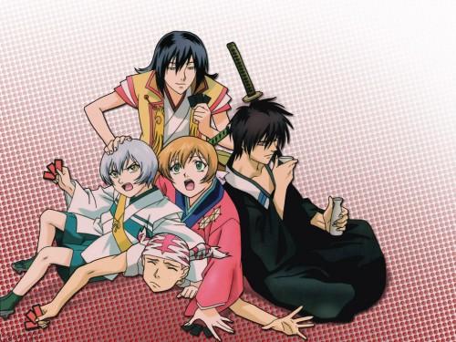 Studio DEEN, Samurai Deeper Kyo, Yuya Shiina, Sasuke Sarutobi (SDK), Yukimura Sanada (SDK) Wallpaper