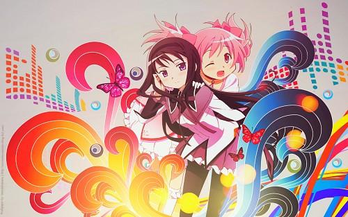 Shaft (Studio), Puella Magi Madoka Magica, Homura Akemi, Madoka Kaname Wallpaper