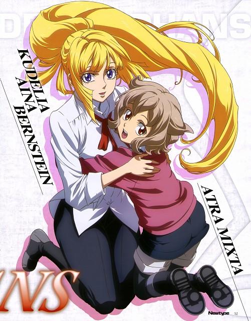 Sunrise (Studio), Mobile Suit Gundam: Iron-Blooded Orphans, Atra Mixta, Kudelia Aina Bernstein, Magazine Page