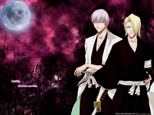 Kubo Tite, Studio Pierrot, Bleach, Izuru Kira, Gin Ichimaru Wallpaper
