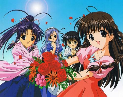 Naoto Tenhiro, Sister Princess, Aria (Sister Princess), Karen (Sister Princess), Marie (Sister Princess)