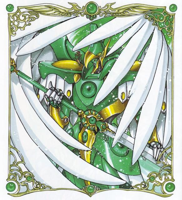 CLAMP, Magic Knight Rayearth, Magic Knight Rayearth Illustrations Collection, Fuu Hououji, Windam