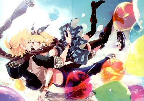 Chris (Mangaka), Weightlessness Space, Vocaloid, Len Kagamine, Rin Kagamine