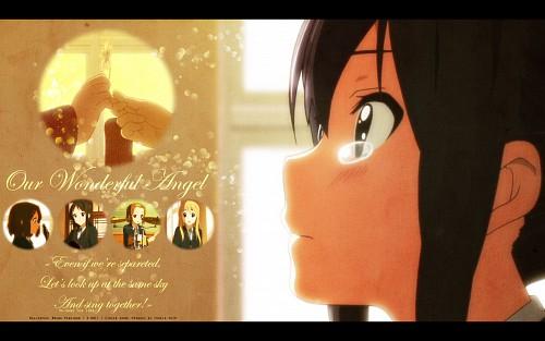 Kakifly, Kyoto Animation, K-On!, Azusa Nakano, Mio Akiyama Wallpaper