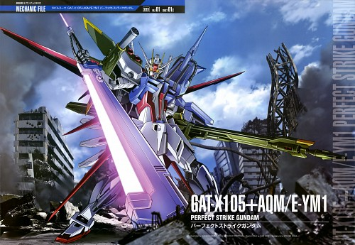 Sunrise (Studio), Mobile Suit Gundam SEED, Gundam Perfect Files