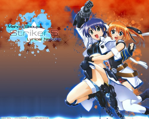 Seven Arcs, Mahou Shoujo Lyrical Nanoha StrikerS, Teana Lanster, Subaru Nakajima Wallpaper