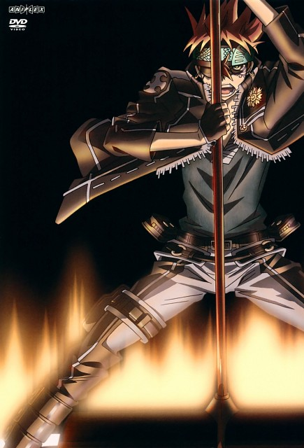 TMS Entertainment, D Gray-Man, Lavi, DVD Cover