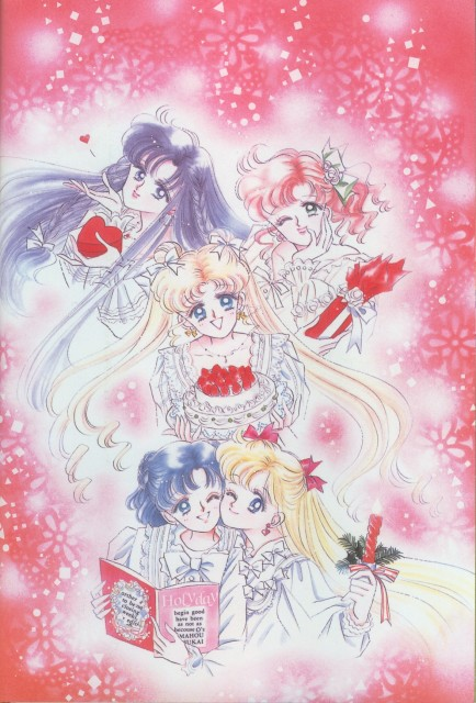 Naoko Takeuchi, Bishoujo Senshi Sailor Moon, BSSM Original Picture Collection Vol. I, Makoto Kino, Minako Aino
