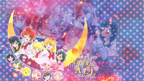 Toei Animation, Bishoujo Senshi Sailor Moon, Rei Hino, Chibi Usa, Usagi Tsukino Wallpaper