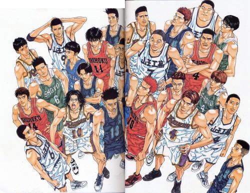 Takehiko Inoue, Slam Dunk, Inoue Takehiko Illustrations, Ryota Miyagi, Mikio Kawata