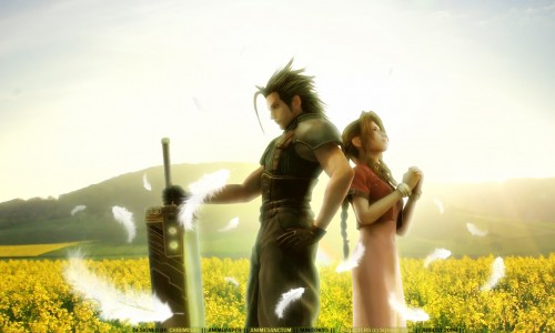 Square Enix, Final Fantasy VII, Final Fantasy VII: Crisis Core, Zack Fair, Aerith Gainsborough Wallpaper