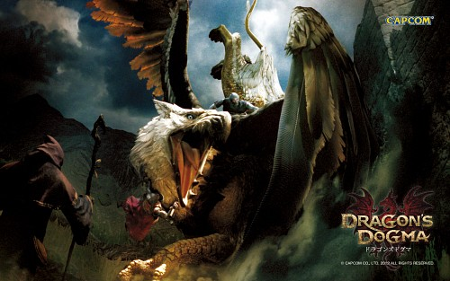 Capcom, Dragon's Dogma, Official Wallpaper