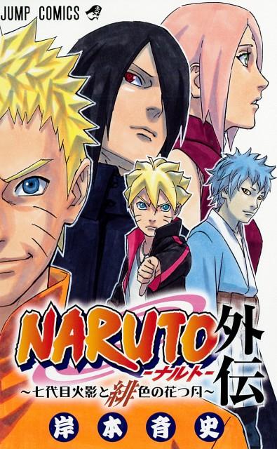 Masashi Kishimoto, Naruto, Bolt Uzumaki, Sakura Haruno, Sasuke Uchiha