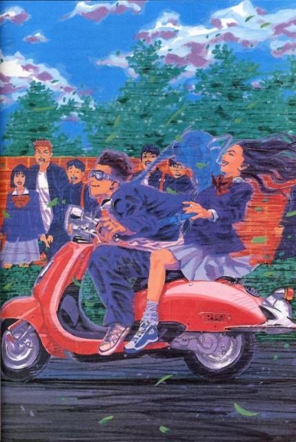 Takehiko Inoue, Slam Dunk, Inoue Takehiko Illustrations, Ayako, Ryota Miyagi