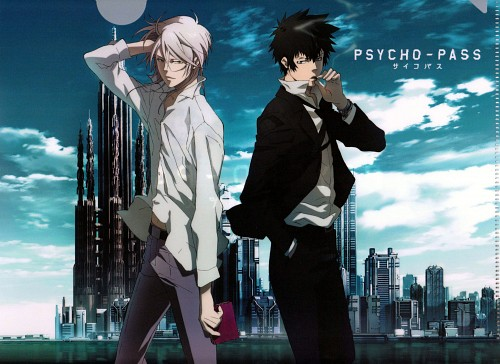 Production I.G, PSYCHO-PASS, Shougo Makishima, Shinya Kougami, Pencil Board
