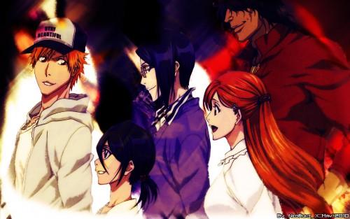 Kubo Tite, Studio Pierrot, Bleach, Orihime Inoue, Yasutora Sado Wallpaper