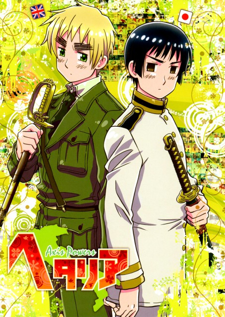 Hidekaz Himaruya, Studio DEEN, Hetalia: Axis Powers, England, Japan