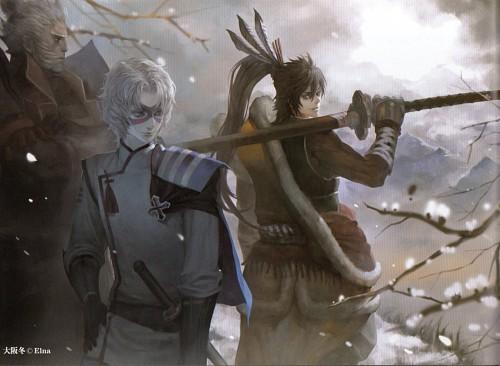 Elna, Sengoku Basara, Hideyoshi Toyotomi (Sengoku Basara), Keiji Maeda (Sengoku Basara), Hanbei Takenaka (Sengoku Basara)