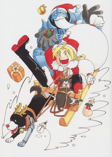 Hiromu Arakawa, Fullmetal Alchemist, Fullmetal Alchemist Artbook Vol. 2, Alphonse Elric, Black Hayate