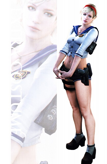Capcom, Resident Evil 6, Sherry Birkin, Official Digital Art