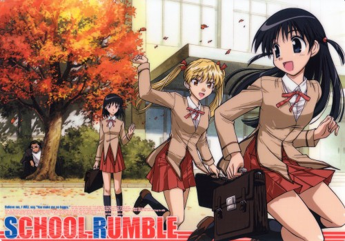Jin Kobayashi, School Rumble, Yakumo Tsukamoto, Eri Sawachika, Tenma Tsukamoto