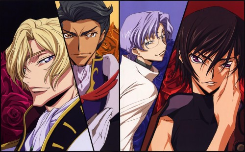 Takahiro Kimura, Sunrise (Studio), Lelouch of the Rebellion, Code Geass Ilustrations Rebels, Lloyd Asplund