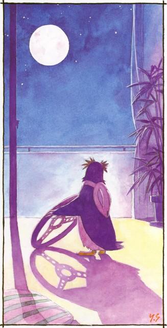 Yoshiyuki Sadamoto, Neon Genesis Evangelion, Der Mond, Pen Pen