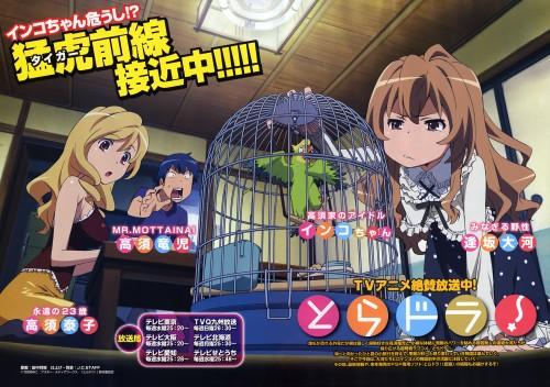 J.C. Staff, Toradora!, Yasuko Takasu, Ryuuji Takasu, Inko-chan