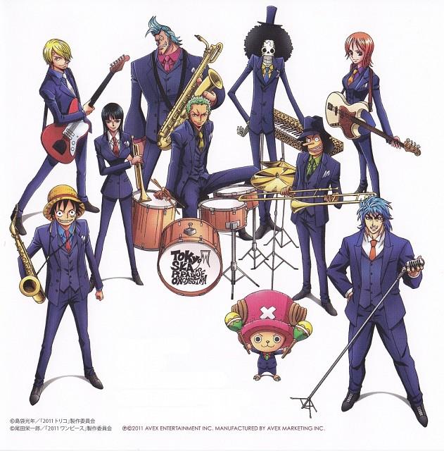 Eiichiro Oda, Mitsutoshi Shimabukuro, Toei Animation, Toriko, One Piece