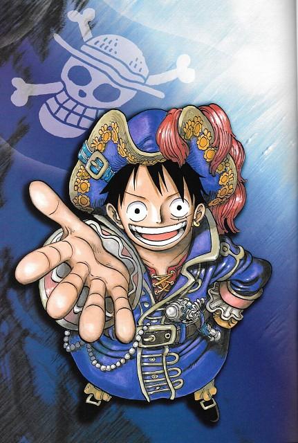 Eiichiro Oda, Toei Animation, One Piece, Color Walk 6 - Gorilla, Monkey D. Luffy