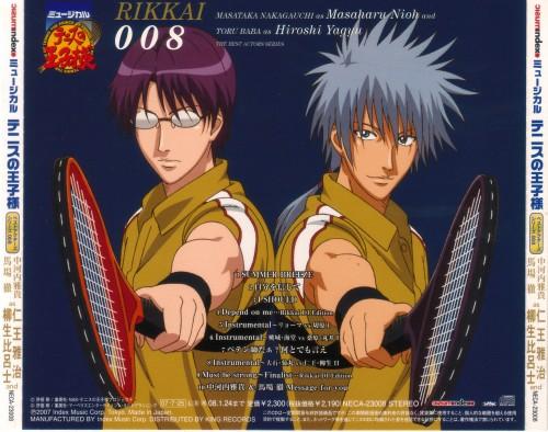 Takeshi Konomi, J.C. Staff, Prince of Tennis, Hiroshi Yagyuu, Masaharu Niou