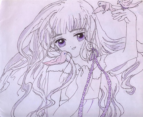 CLAMP, Madhouse, Cardcaptor Sakura, Tomoyo Daidouji, Member Art