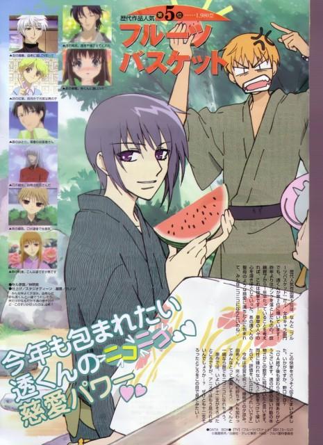 Natsuki Takaya, Fruits Basket, Hatori Sohma, Kyo Sohma, Hatsuharu Sohma