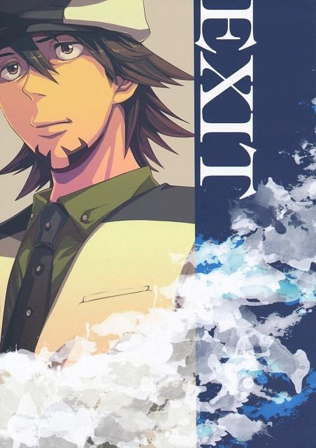 Tiger and Bunny, Kotetsu T. Kaburagi, Doujinshi Cover, Doujinshi