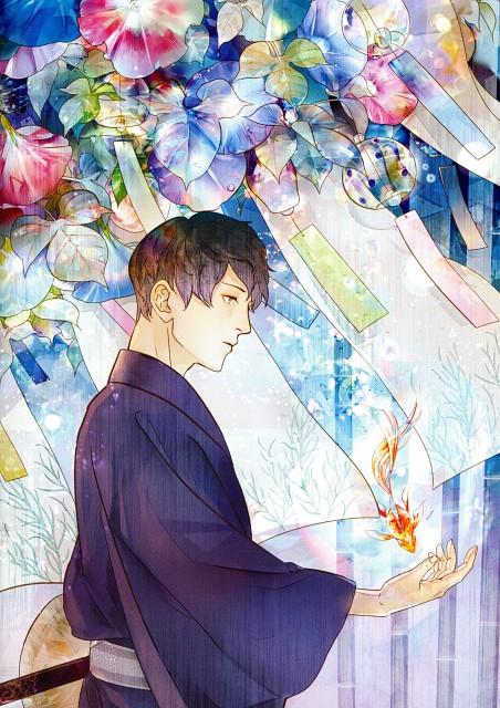 Tokihito Saiga, Pixiv Official Book 2014, Original, Pixiv