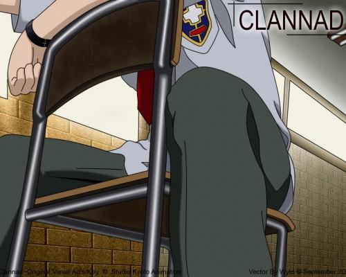 Kyoto Animation, Clannad, Tomoya Okazaki Wallpaper